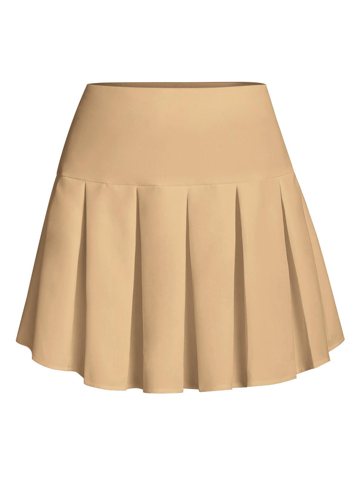 ZAFUL Pleated Mini Skirt