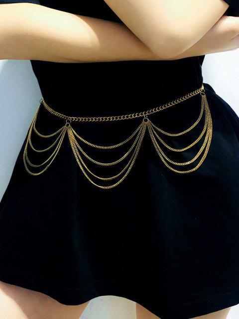 Cadeia de Várias Camadas - Dourado  Mobile