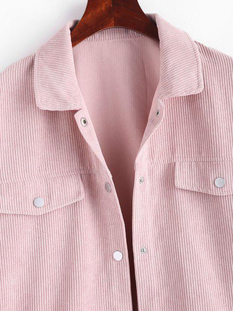 Taschen Mesh Detail Kord Jetzt - Helles Rosa S Mobile