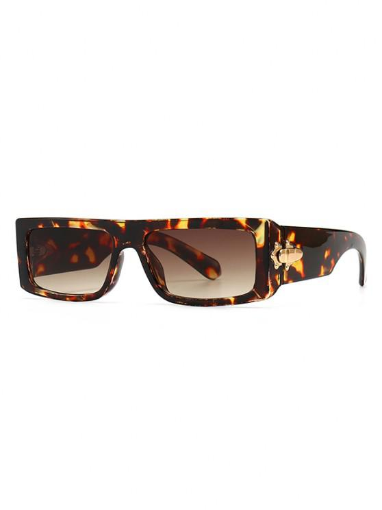 latest Classic Square Shape Sunglasses - LEOPARD