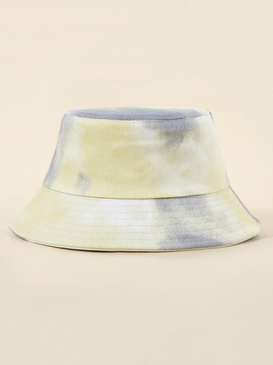 unique Tie Dye Bucket Hat - GRAY CLOUD