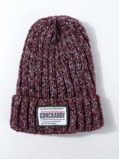 Sombrero De Bandera De Diseño - Vino Tinto