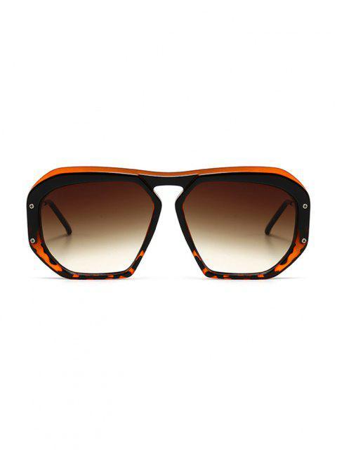 chic Retro Anti UV Optical Sunglasses - LEOPARD  Mobile