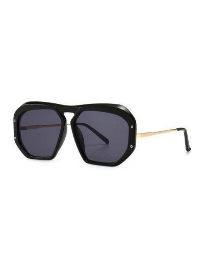 Retro Anti UV Optical Sunglasses - Black