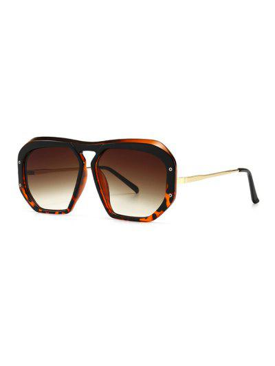 Retro Anti UV Optical Sunglasses - Leopard