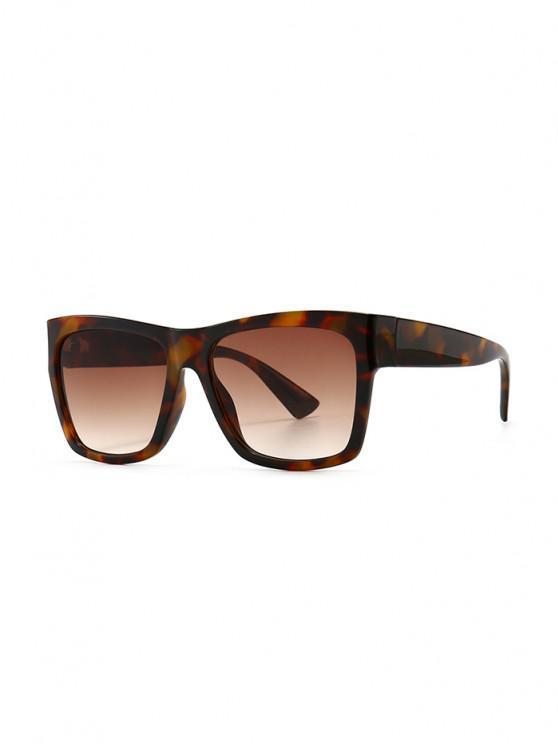 fancy Ombre Color Retro Anti UV Sunglasses - LEOPARD