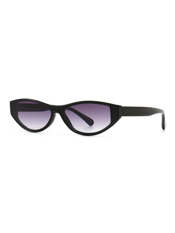Óculos de Sol Retrô Olho de Gatinho - Cinzento