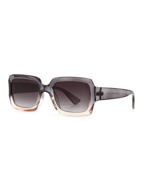 Óculos de Sol Retro de Retângulo Arredondado - Nuvem Cinzento  Mobile
