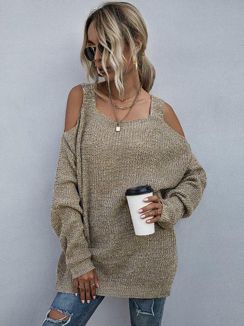 Maglione con Spalle Scoperte - caffè leggero M Mobile