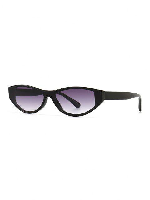 buy Narrow Kitten Eye Retro Sunglasses - GRAY  Mobile