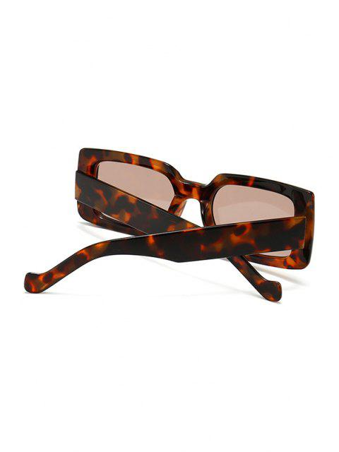 Gafas de Sol Rectangulares Retro Marco Ancho - Leopardo  Mobile
