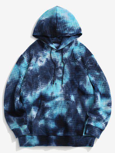 Jersey Sudadera Con Capucha Cordón Ajustable Bolsillo Delantero - Azul L