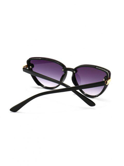 shop Charm UV Protection Mental Sunglasses - HELIOTROPE PURPLE  Mobile