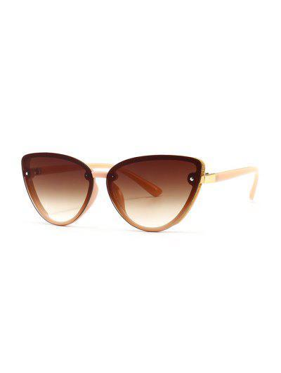 Charm UV Protection Mental Sunglasses - Orange Pink
