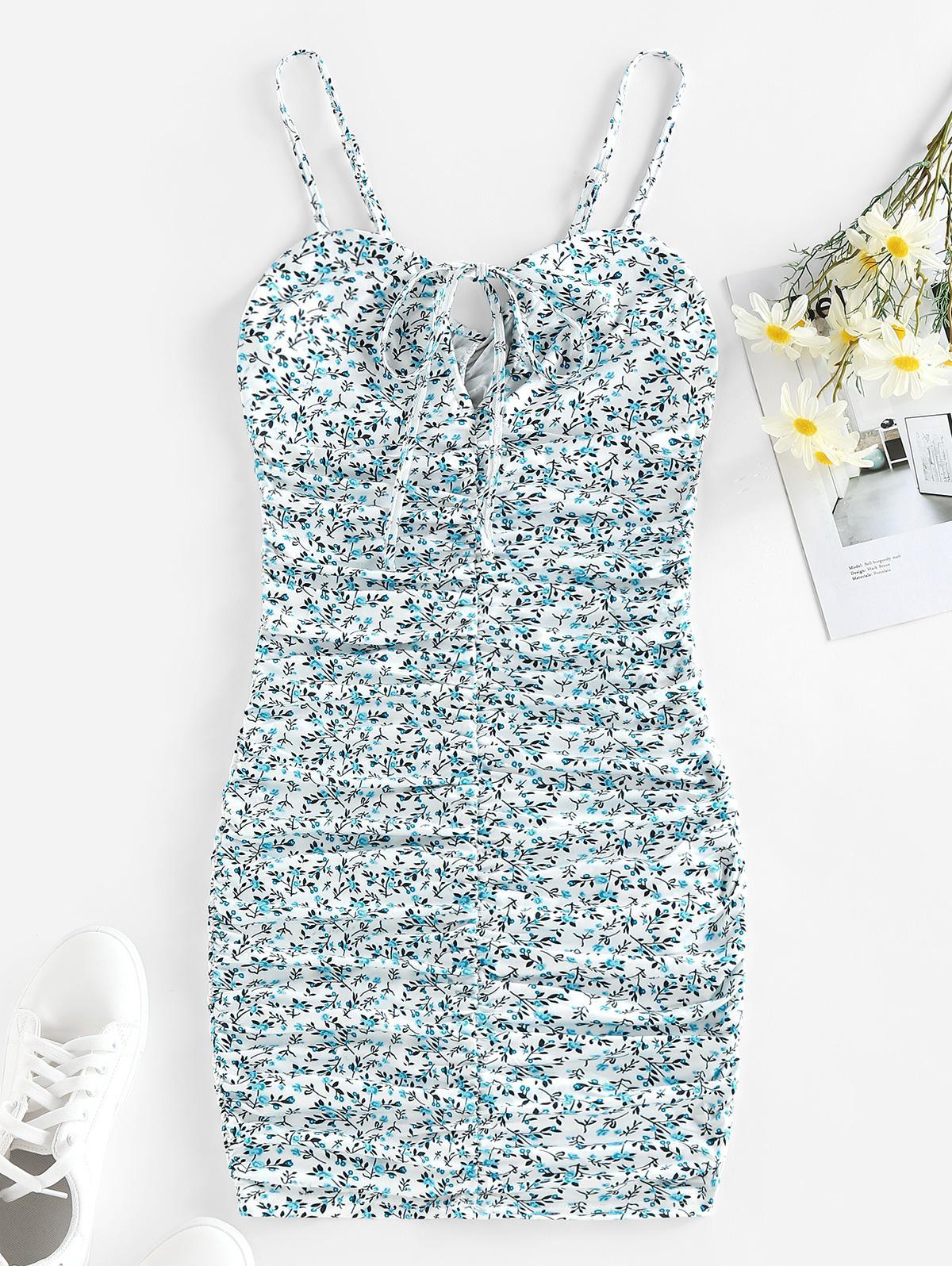 Zaful Ditsy Floral Dress