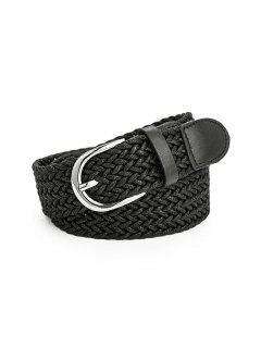 Retro Pin Cataramă Curele De îmbrăcăminte - Negru