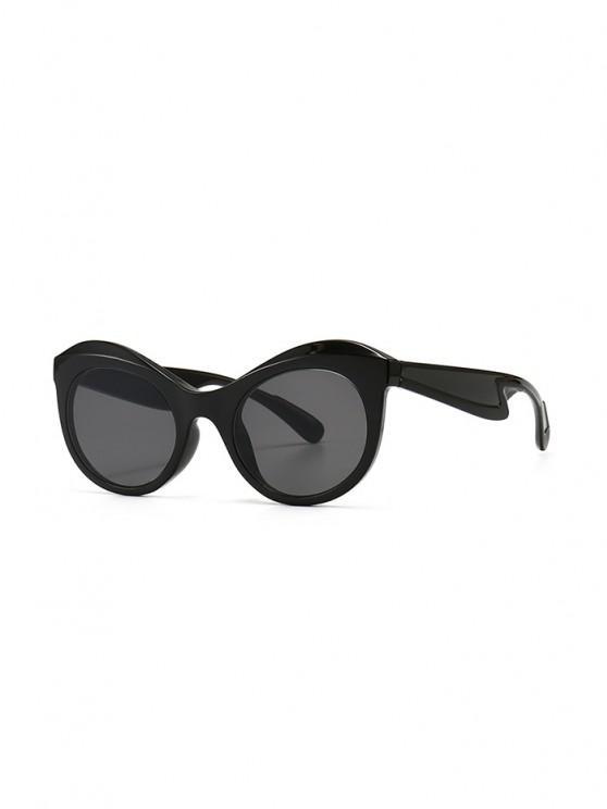 new Anti UV Kitten Eye Sunglasses - BLACK