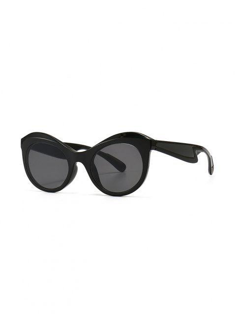 new Anti UV Kitten Eye Sunglasses - BLACK  Mobile