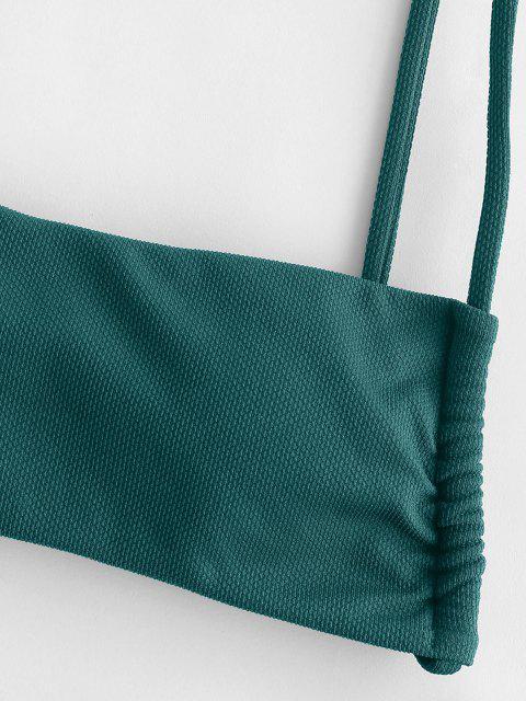 Costume da Bagno Bikini con Anello di ZAFUL - Verde intenso M Mobile