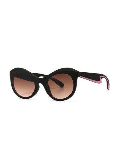 Anti UV Kitten Eye Sunglasses - Lipstick Pink