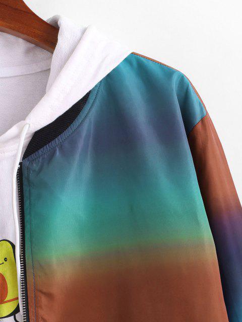 Veste Zippée Ombre Imprimé - Multi S Mobile