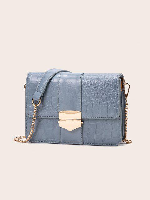 Cadena de La Cubierta del Rectángulo del Bolso de Crossbody - Azul de Koi  Mobile