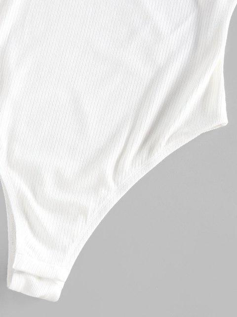 ZAFUL Bodysuit Sin Tirantes - Blanco S Mobile