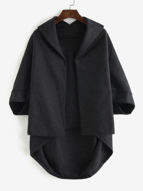 Abrigo Capa Abertura Frontal - Gris Oscuro M Mobile