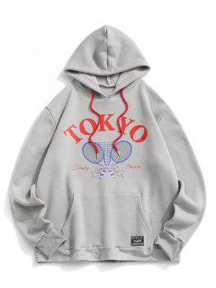 Sweat-Shirt à Capuche En Molleton Motif Inscription Tokyo Dénudée Dénudée Dénudée Dénudée Dénudée Dénudée Dénudée Dénudée Dénudée Dénudée Dénudée Dénudée Dénudée Este - Gris Foncé M