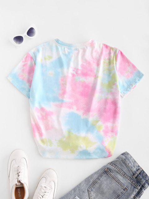 T-Shirt Tunique Boyfriend Teinté - Multi M Mobile
