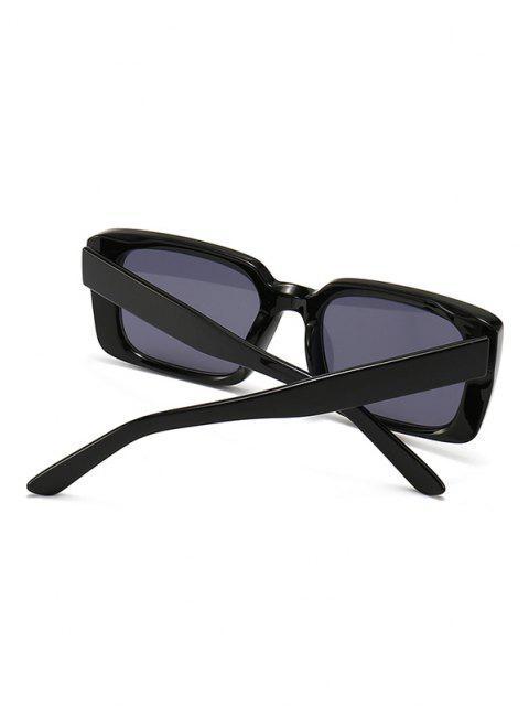 hot Retro Square Outdoor Sunglasses - BLACK  Mobile