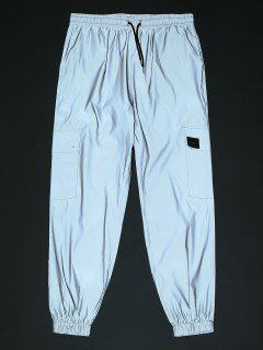 Pantalon Cargo Réfléchissant - Gris 2xl