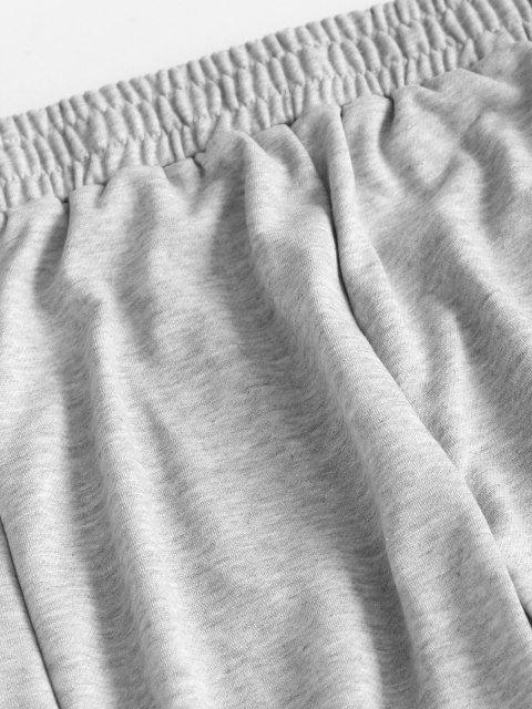 Pantaloni Sportivi con Nodo - Grigio M Mobile