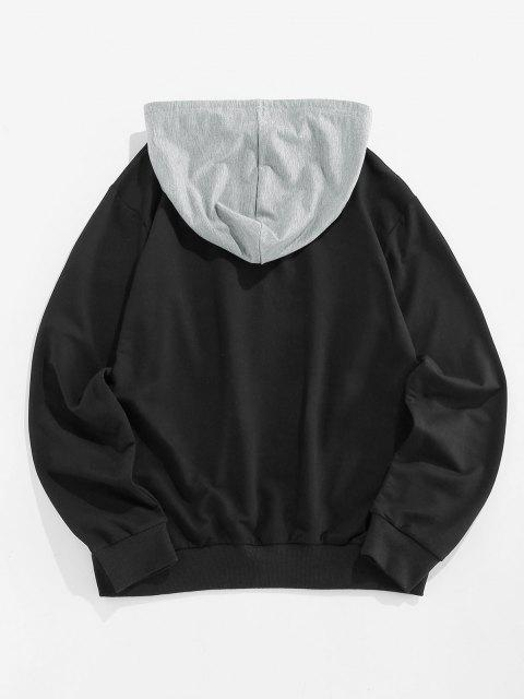 online ZAFUL Week Colorblock Hoodie - MULTI XL Mobile