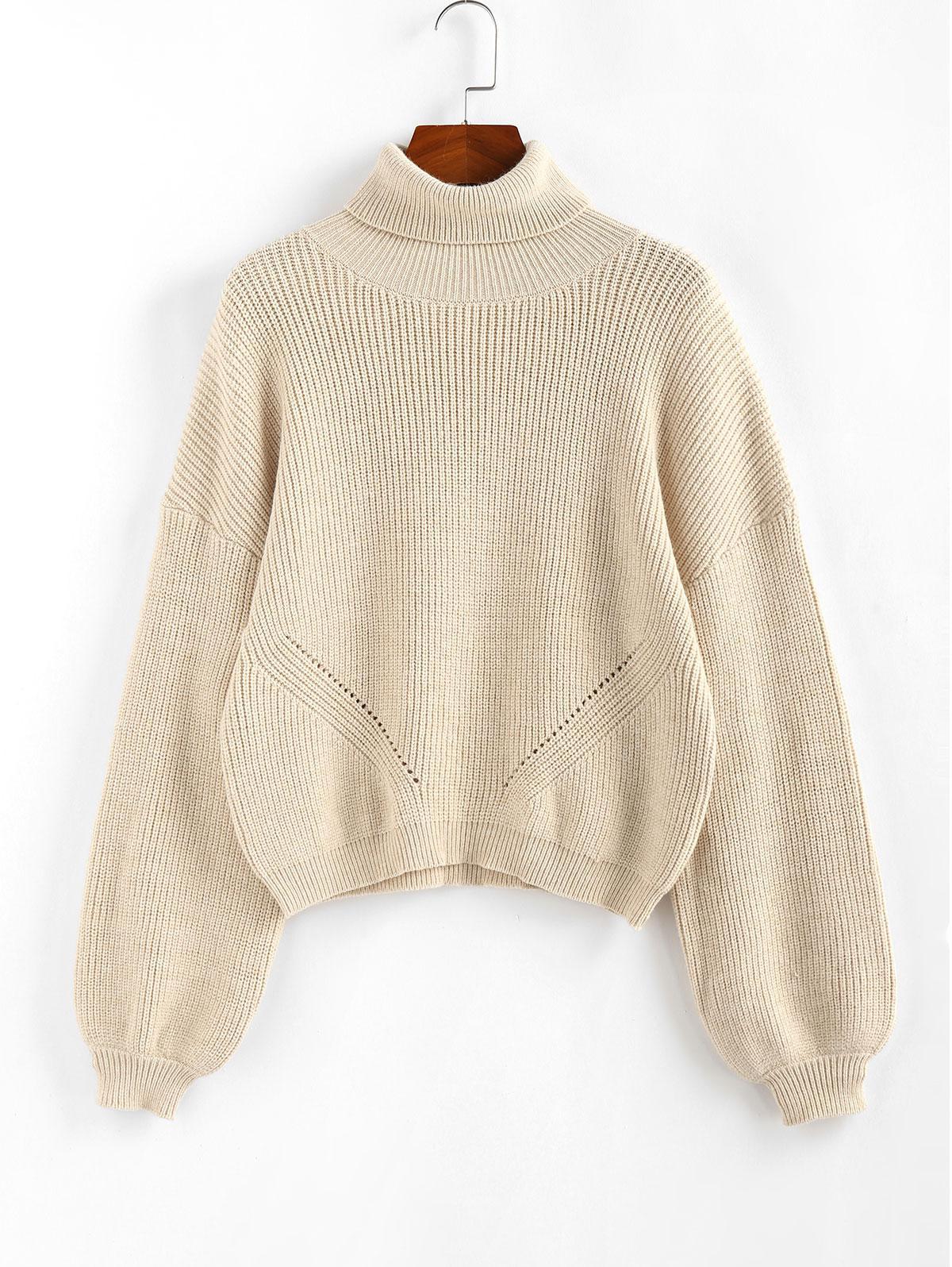 Zaful Turtleneck  Sweater