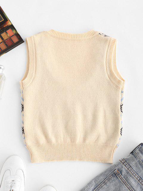 Camisola suéter Jacquard com floco de neve - Multi Um Tamanho Mobile