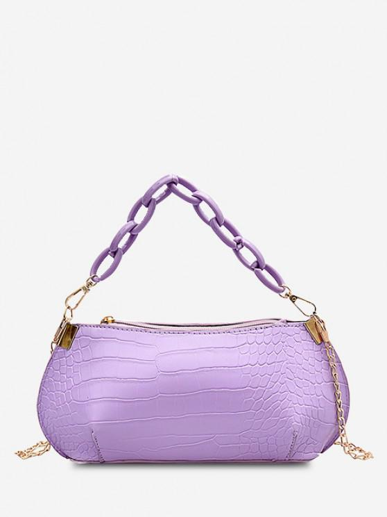 Textured Chains Handbag - خبازي