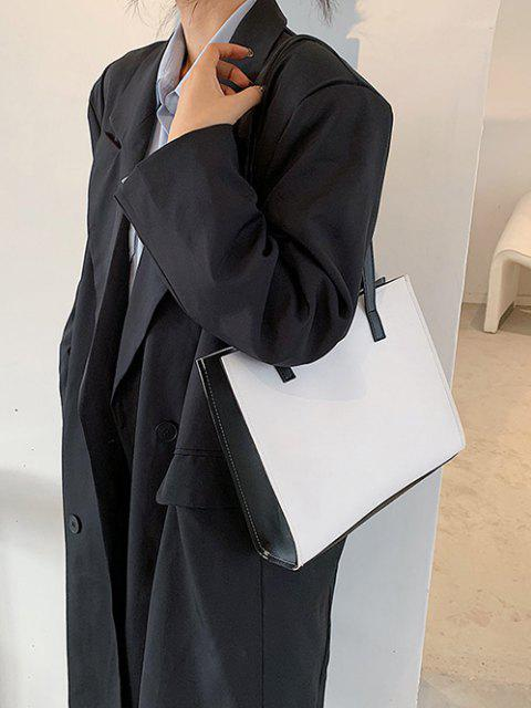 new Minimalist Square Shoulder Bag - WHITE  Mobile
