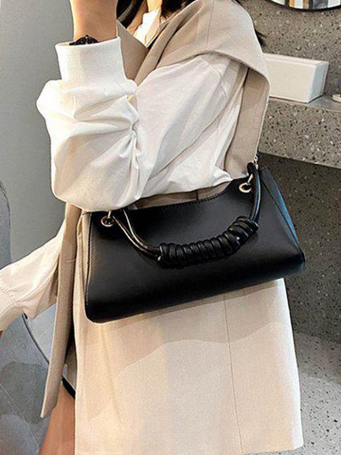 Bolsa Mano Color Solido - Negro  Mobile
