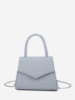 Envelope Cover Chain Handbag - Blue Gray