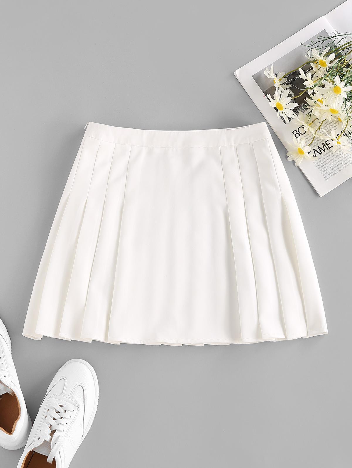 ZAFUL Pretty Mini Pleated Skirt
