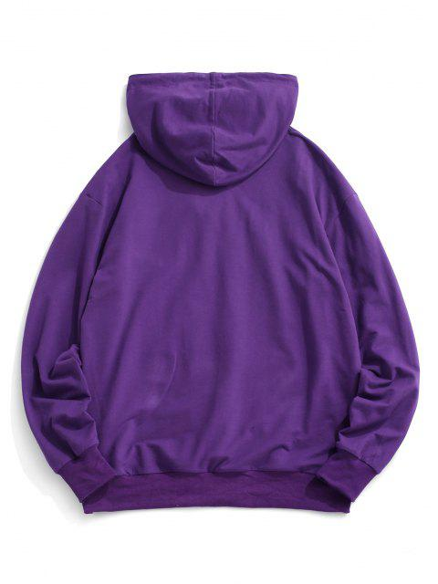 outfit Graphic Kangaroo Pocket Hoodie - CONCORD S Mobile