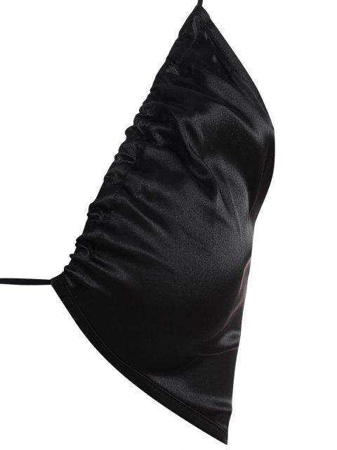 womens Cutout Cami Bodycon Dress - BLACK M Mobile