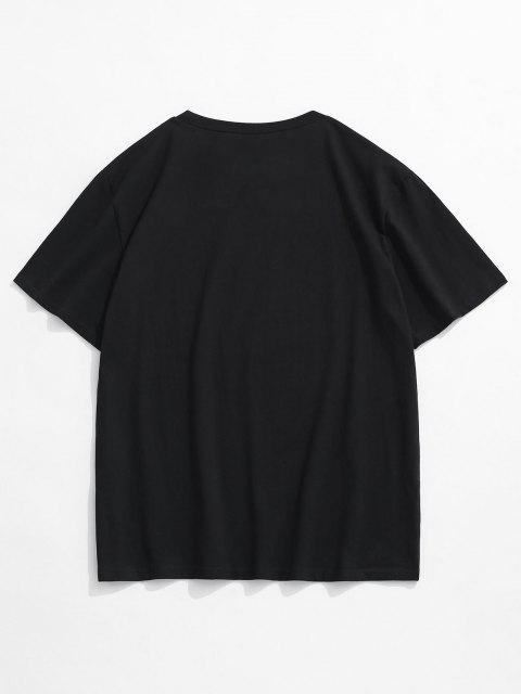 Disappointed But Not Surprised Rose Basic T-shirt - أسود XL Mobile