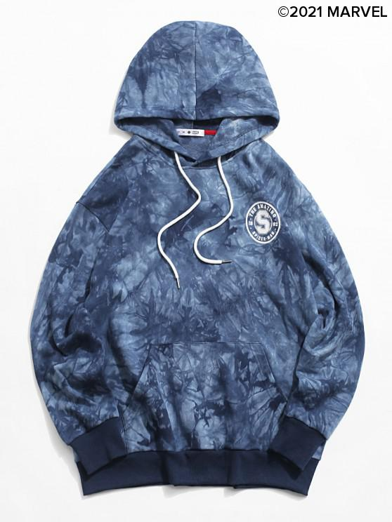 outfit Marvel Spider-Man Graphic Tie-dye Hoodie - BLUEBERRY BLUE M