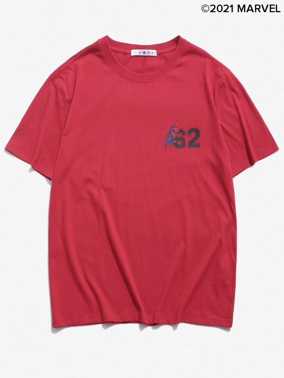 latest Marvel Spider-Man Basic T-shirt - RED S