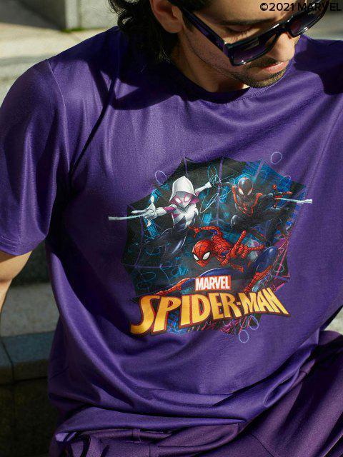 Marvel Spider-Man Spider-Girl Basic T-Shirt - Lila S Mobile
