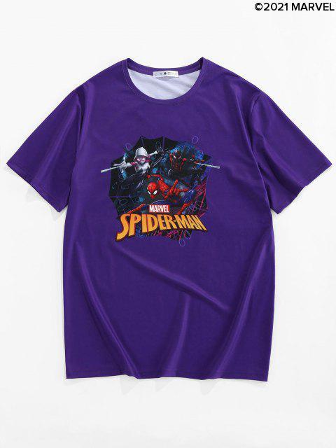 T-shirtMarvel Spider-ManImprimé - Pourpre  S Mobile