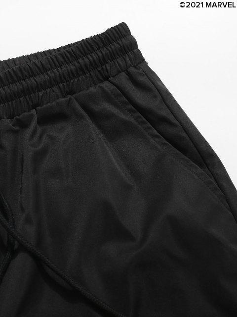 ShortMarvelSpider-ManetLettreGraphiqueImprimés - Noir XL Mobile