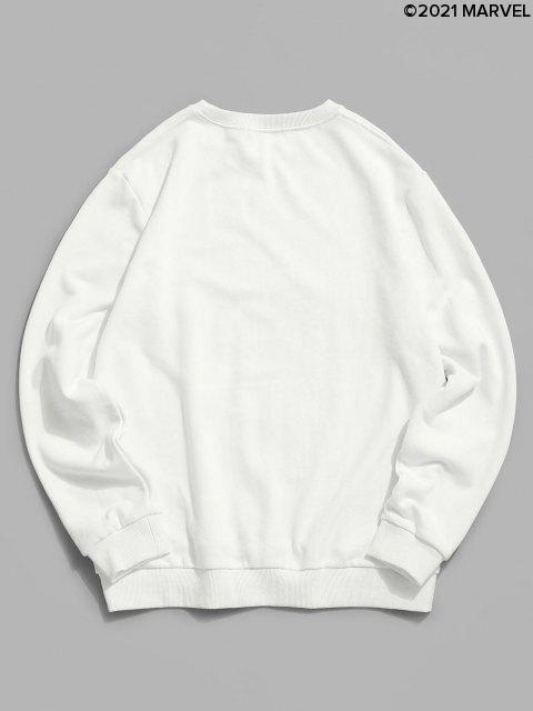 Sweat-shirtGraphiqueMarvelSpider-Man - Blanc M Mobile